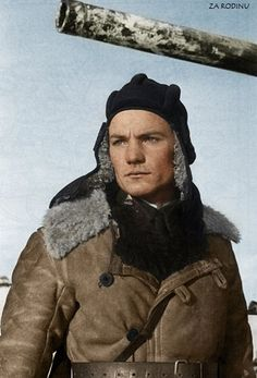 New Look At the War Ivan Lyubushkin – a tank ace who shot 20 tanks down near Moscow. Died in May 1942.
