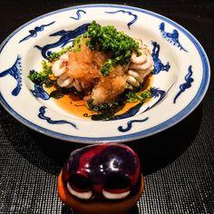 Milt dish!! In Japan