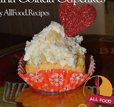 Pi�a Colada Cupcakes