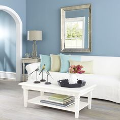 W7503White Gustavian Coffee Table Coffee Tables