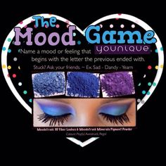 Online party game to get your guests interacting.  #party #OnlineParty #VirtualParty #FacebookParty #YouniqueParty #MakeupParty #younique #makeup #game #icebreaker #fun #host #mascara #lashes
