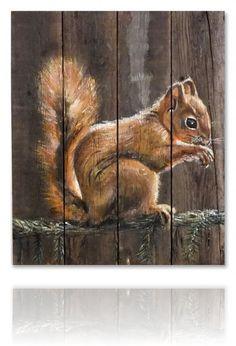 eekhoorn schilderen - Google zoeken