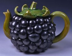 Beautiful one-of-a-kind artisan teapot. Love the texture. What character!
