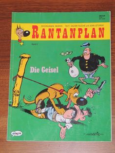 Rantanplan Band #3 Die Geisel (Ehapa Verlag) Western Comics, Lucky Luke, Westerns, Comic Books, Band, Drawing S, Sash, Comic Strips