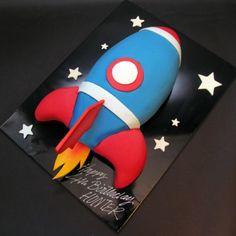3D Rocket Cake