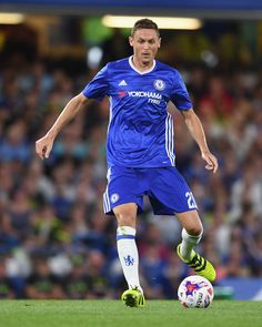 Nemanja Matic of Chelsea in action during the EFL Cup second round match between…