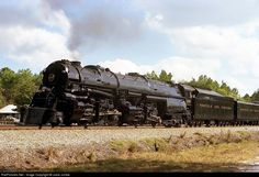 RailPictures.Net Photo: 1218 Norfolk & Western Steam 2-6-6-4 at Fargo, Georgia by Juice Junkie