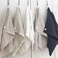 """ting shop (canada) - linen towel . 19 x 29"""""""