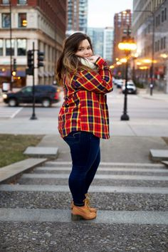 Casual Outfits For Plus Size Women With Bean Boots instead.