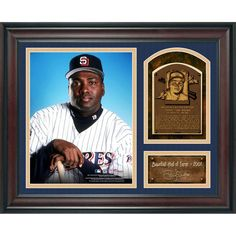 """Tony Gwynn San Diego Padres Fanatics Authentic Framed 15"""" x 17"""" Baseball Hall of Fame Collage with Facsimile Signature - $59.99"""