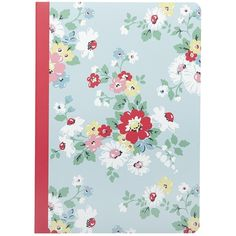 Cath Kidston Bright Daisy A5 Notebook (145 MXN) ❤ liked on Polyvore featuring home, home decor, stationery, filler, accessories, backgrounds, school and books