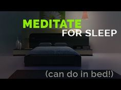 Meditate for Sleep: Deep Breathing & Relaxation Techniques - YouTube
