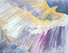 Title: Soaring to New Heights Dimensions:40×50 in Medium: Acrylic on Canvas Date: 5/23/2010 Location: Kingdom School of Creativity conference at Bethel Church in Redding, CA Interpretation: I …