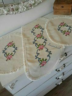Yatak odasi Hand Embroidery, Embroidery Designs, Bargello, Baby Knitting Patterns, Baby Dress, Needlework, Diy And Crafts, Cross Stitch, Handmade