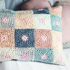 """New crochet cushion on the blog today  #crochet #crochetlove #crochetaddict…"