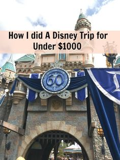 MAPLE LEOPARD: How to do a Disney Trip for Less than $1000.00