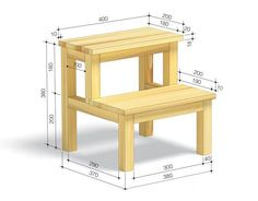 numerous simple suggestions on practical programs for Favourite Popular Woodworking Furniture Diy Furniture Plans Wood Projects, Small Wood Projects, Woodworking Furniture Plans, Woodworking Projects Diy, Pallet Furniture, Diy Projects, Popular Woodworking, Diy Stool, Wood Steps
