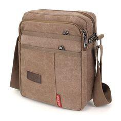 Vintage Leather, Leather Men, Canvas Crossbody Bag, Side Bags, Travel Bags, Men Casual, Shoulder Bag, Purses, Weapons