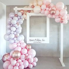 134PCS Metal Rose Gold Peach Balloons Garland Maca Pink Gray Balloon Arch kit Metallic Gold Birthday Wedding Baby Shower Bridal Shower Party