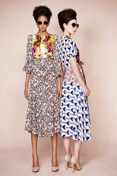 Duro Olowu Spring 2013 Ready-to-Wear Collection Slideshow on Style.com  I would so love to have one of these dresses!