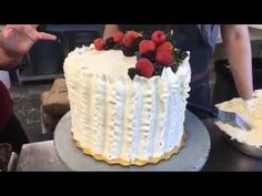How to make Whole Foods Berry Chantilly Cake at home Berry