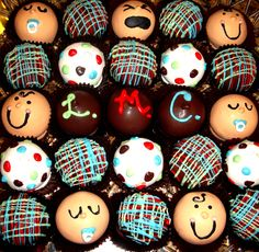 these are great!  Baby Shower Mix Cake Balls
