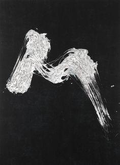 Fabienne Verdier Paysage d'hiver I, 2013 Ink, pigments and varnish on canvas 183 × 135 cm