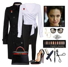 """""""Set #1793 - Thatcher: The Final Days"""" by the-walking-doctor ❤ liked on Polyvore featuring Aquascutum, Yves Saint Laurent, Christian Louboutin, Hermès, Roberto Coin, Mark Broumand, Linda Farrow, Forever 21, Clé de Peau Beauté and Sisley"""
