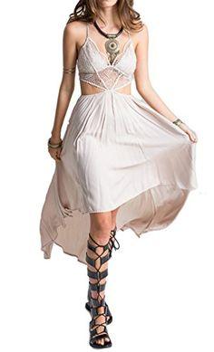 52dcac46e7 Hilari Champagne Strappy Satin Skater Dress ( 40) ❤ liked on ...