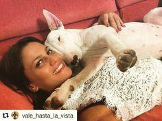 Vale & Numa Un po' di coccole prima della pappa!  . . #Repost @vale_hasta_la_vista with @repostapp  Io e Numa  #love #dog #bullterrier #tantoamore #coccole #coccoletime #bambini #bausocial #giocherelloni #suldivano #insieme #amore #tantoamore #cane #cani #dogs #amazing #all_shots #vsco #beautiful #igersmilano #aww #life #instadog #Bau #dogstagram