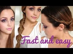 QUICK & EASY Back To School Hair Styles