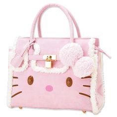 New Hello Kitty Sheepskin Bag Sanrio from Japan Sanrio Hello Kitty, Chat Hello Kitty, Hello Kitty Items, Hello Kitty Handbags, Hello Kitty Purse, Kawaii Bags, Kawaii Accessories, Pink Handbags, Clutch
