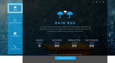 RainBug is a custom design multi-functional HTML template, powered with Bootstrap framework and designed with HTML5 and CSS3 technology. Fully responsive, it works from large desktops to mobile devices.