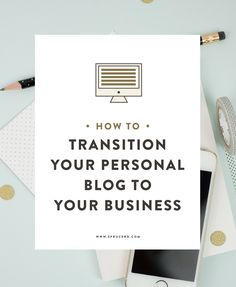 Once you have clarity about the next steps for your business, it is time to  transition from your personal online space to your professional one. This  can get tricky, and you want to make sure you transition in a way that  feels right.