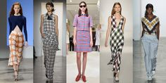 "Gingham will always have a place in our hearts (and on the runways) but this season, designers are saying, ""supersize me."" We spotted large plaids at Thakoon, Marissa Webb, Brooks Brothers, Victoria Beckham, and Wes Gordon, to name a few.    - ELLE.com"