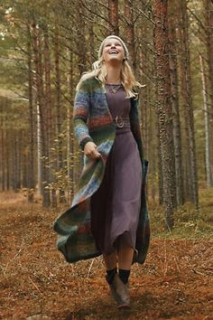 Anthropologie - Ombre Stripe Duster
