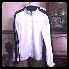 Nike Dry Fit Jacket Can be unisex , size small, Nike Dry Fit Jacket Zipper front, two zipper side pockets . Nike Jackets & Coats