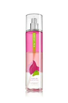 Sweet Pea Triple Silk Body Oil Mist - Signature Collection - Bath & Body Works
