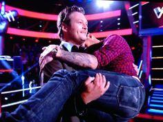 *And I will always looove yoooouu* lol  Adam Levine & Blake Sheldon hahaha that's funny