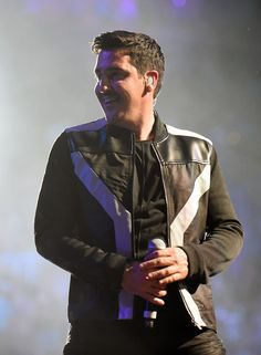 Singer Jonathan Knight of New Kids on the Block perform during the kickoff of The Main Event tour at the Mandalay Bay Events Center on May 1, 2015 in Las Vegas, Nevada.