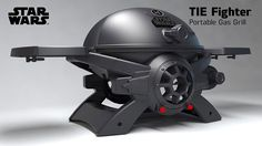 Here is another grill that could prove attractive to Star Wars fans. The Star Wars TIE Fighter Gas Grill has fold-out wings that help you prepare your food conveniently. You can use it with 1lb disposable propane tanks. The grill has a cast aluminum body and cast iron grid to cook your meats and vegetables …