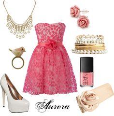 Disney Princess Aurora outfit