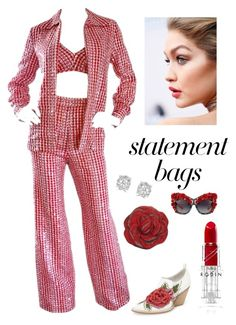 """Statement Bags"" by kotnourka ❤ liked on Polyvore featuring Jeffrey Campbell, Judith Leiber, Dolce&Gabbana and Effy Jewelry"