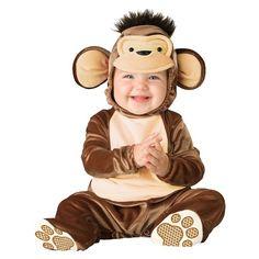 Infant/Toddler Mischievous Monkey Costume