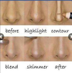 Tips para afinar la nariz!