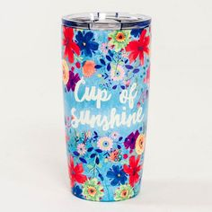 Natural Life On The Go Tumbler- Cup Of Sunshine