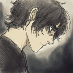 Nico by Viria | My boy, Nico Di Angelo as drawn by viria<<<That's not Viria