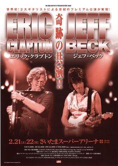 Eric Clapton, Jeff Beck - Tokyo, Japan