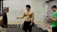 Here's Henry Cavill Working Out Shirtless And Becoming A Real Life Man Of Steel