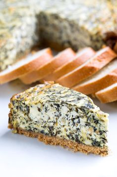 Savory Spinach Artichoke Cheesecake - Oven and Instant Pot Instructions This Savory Spinach Artichoke Cheesecake is a fun and delicious party appetizer! Make Ahead Appetizers, Thanksgiving Appetizers, Appetizers For Party, Party Dips, Party Snacks, Savory Cheesecake, Cheesecake Recipes, Ricotta, Instant Pot